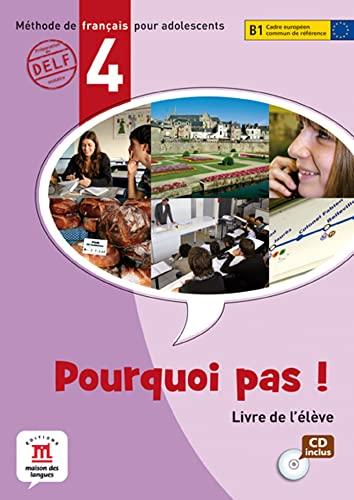 9788484435372: Pourquoi Pas!: Livre De L'Eleve & CD 4 (French Edition)