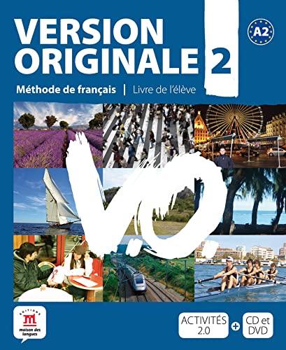 9788484435631: Version originale. Per le Scuole superiori. Con CD Audio. Con DVD: Version Originale 2 - Libro del alumno + CD + DVD