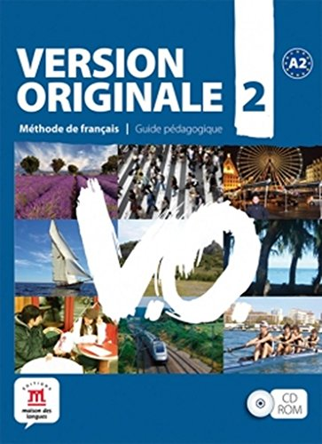 9788484435655: Version Originale 2 - Libro del profesor CD-ROM (Fle- Texto Frances)
