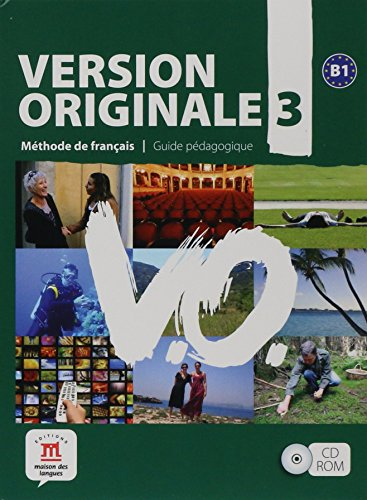 9788484435686: Version Originale 3 - Libro del profesor CD-ROM (Fle- Texto Frances)
