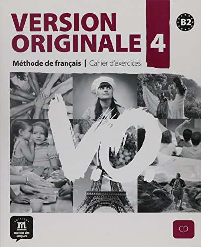 9788484435709: Version Originale 4 : Méthode de français - Cahier D'exercices (1CD audio)