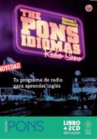9788484435730: The Pons Idiomas Radio show inglés CD