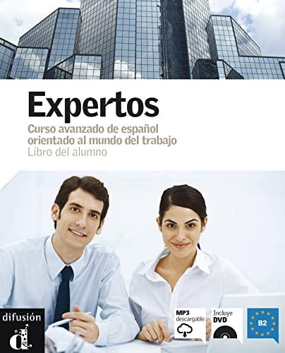 9788484435860: Expertos Libro del alumno + DVD Nivel B2 (Ele - Texto Español)