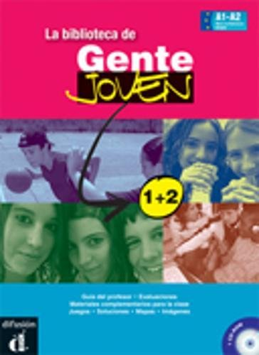 9788484435990: Biblioteca Gente Joven 1+ 2 (Ele - Texto Español)