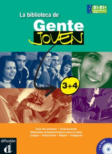 9788484436003: Gente Joven: LA Biblioteca De Gente Joven 3+4 - CD-Rom (for the Teacher)