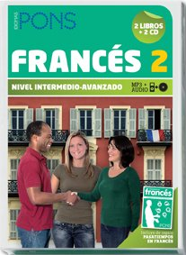 9788484436393: Curso Completo PONS Autoaprendizaje francés 2 (Nivel B1) 2 libros + 2 CD (Pons - En La Empresa)