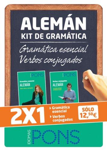 9788484436416: Kit de gramática ALEMÁN. Gramática esencial + Verbos conjugados (Pons - Kit Gramatica)