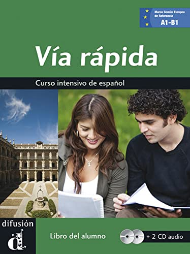 9788484436553: Via rapida. Libro del alumno. Con 2 CD Audio.: Via rápida libro del alumno + CD A1-B1 (Ele - Texto Español)
