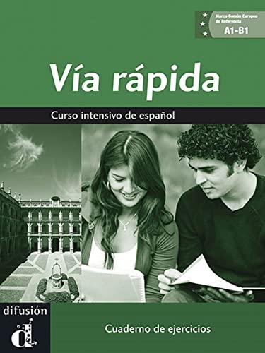 9788484436560: Via rápida cuaderno de ejercicios + CD A1-B1 (Ele - Texto Español)