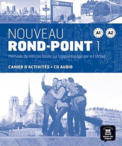 9788484436621: Nouveau rond-point. A1-A2. Cahier d'exercices. Per le Scuole superiori. Con CD. Con e-book. Con espansione online: Nouveau Rond-Point 1 - Cahier d'exercices + CD (Fle- Texto Frances)