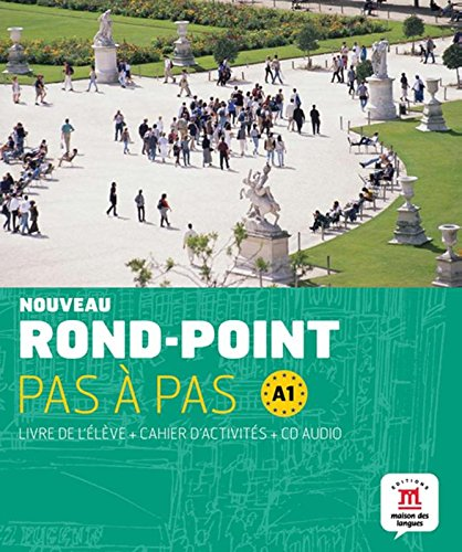 9788484436652: Nouveau Rond-Point pas à pas A1 - Libro del alumno + Cuaderno de ejercicios + CD (Fle- Texto Frances)