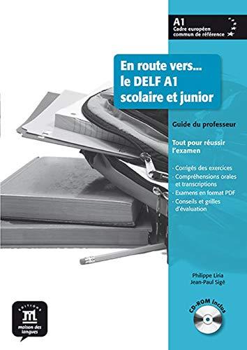 9788484436683: En route vers... le DELF A1 scolaire et junior : Guide du professeur (1C�d�rom)
