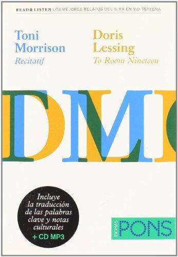 """9788484436805: Colección Read & Listen - Toni Morrison """"Recitatif""""/Doris Lessing """"To room nineteen + mp3 (Pons - Read & Listen)"""