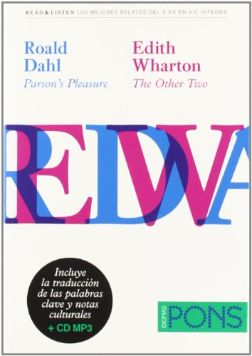 "9788484436812: Colección Read & Listen - Roald Dahl ""Parson's pleasure""/Edith Wharton ""The order two""+ mp3 (Pons - Read & Listen)"