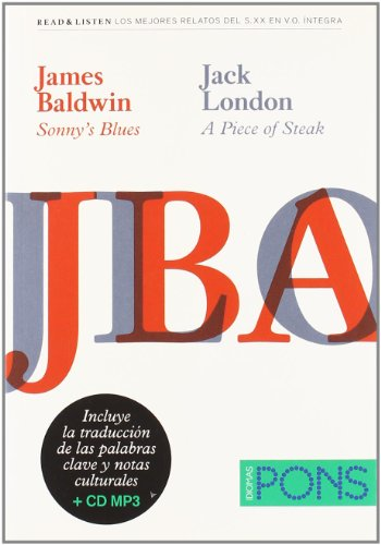 "9788484436829: Colección Read & Listen - James Baldwin ""Sonny's blues""/Jack London ""A piece of steak""+Cd (Pons - Read & Listen)"