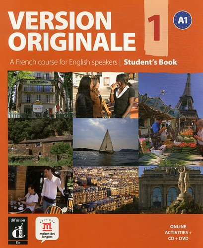 9788484436935: Version Originale 1. A French Course For English Speakers. Student's Book (Fle- Texto Frances)