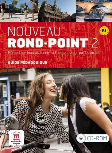 9788484436973: Nouveau Rond-Point 2 - Guide du professeur CD-ROM (Fle- Texto Frances)