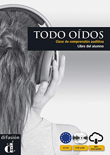 9788484437277: Todos oidos: Libro Del Alumno + CD. Clase de comprensioin auditiva (Levels A1 and A2) (Spanish Edition) (Spanish and French Edition)