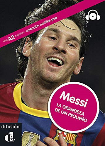 9788484437345: Perfiles Pop (Graded Readers About Pop Stars and Sports Celebrities): Messi - Book + CD (Spanish Edition)