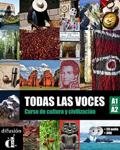 9788484437543: Todas las Voces - Libro del alumno + CD + DVD Nivel A1-A2 (Ele- Texto Espanol) (Spanish Edition)