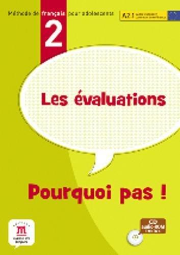 9788484437628: Evaluations pourquoi pas! : Méthode de français pour adolescents, niveau A2.1 (1Cédérom)