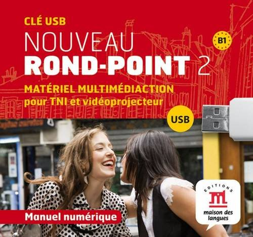 9788484437796: Nouveau Rond-Point: Usb 2 (B1) (French Edition)