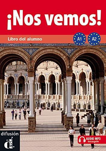 9788484437871: ¡Nos vemos! A1-A2. Libro del alumno (Ele - Texto Español): ¡Nos vemos! A1-A2 Libro del alumno + CD