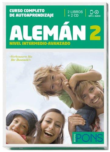 9788484438304: Curso Pons Alemán 2 (nivel B1) - 2 libros + 2 CD (Pons - En La Empresa)