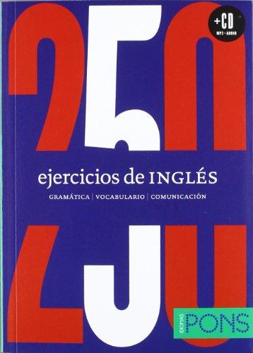 9788484438434: 250 ejercicios de Inglés (Incluye CD)