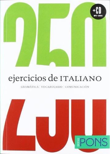 9788484438465: Curso comunicativo de autoaprendizaje Italiano (250 Ejercicios De...)