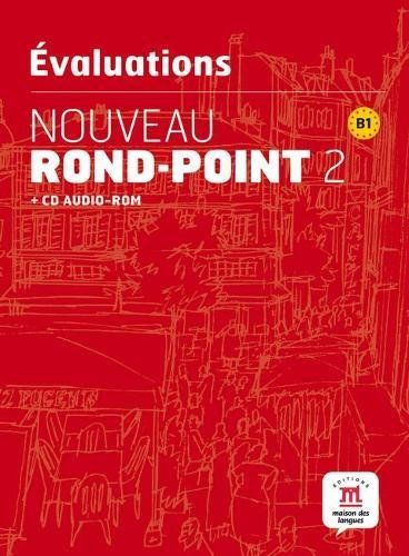 9788484438502: Nouveau Rond-Point 2 - Les evaluations + CD (French Edition)