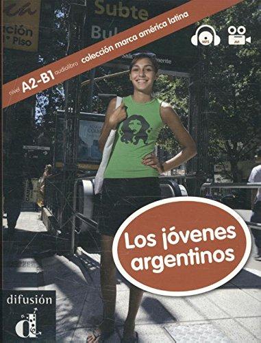9788484438632: Coleccion Marca America Latina: Los Jovenes Argentinos + CD (Spanish Edition)
