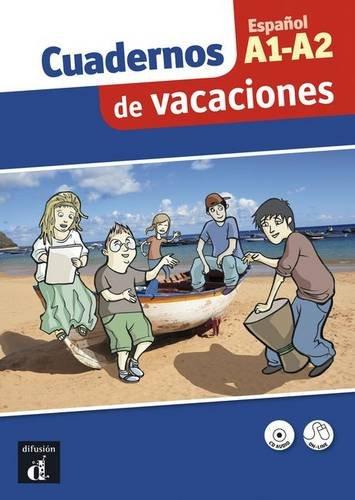 9788484438687: Cuaderno de vacaciones Espanol A1-A2 : Actividades de repaso de la lengua espanola para la secundaria (1CD audio)