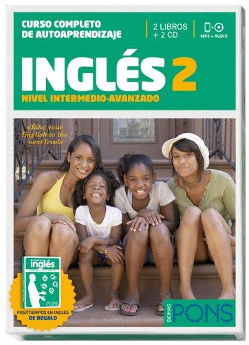 9788484439172: Curso Completo de Autoaprendizaje. Inglés 2 (Nivel Intermedio-avanzado) - Pack 2 libros + 2 CDs (Pons - En La Empresa)