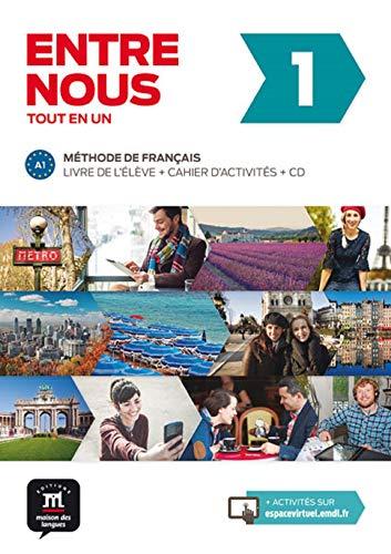 9788484439189: Entre nous 1 A1 : Livre de l'élève + cahier d'activités (2CD audio) (French Edition)