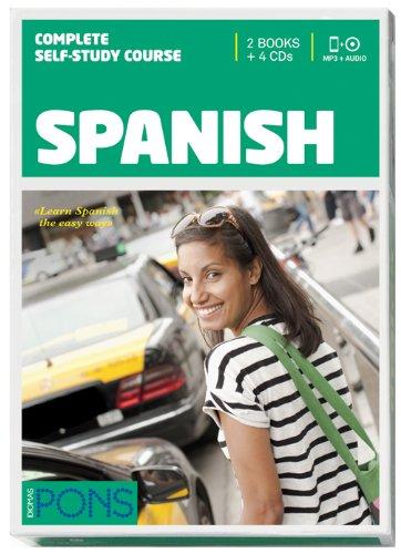 9788484439226: Curso PONS Español / Spanish - 2 libros + 2 CD