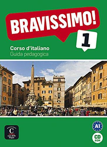 9788484439738: Bravissimo! 1. Guida pedagogica CD-ROM (Texto Italiano)