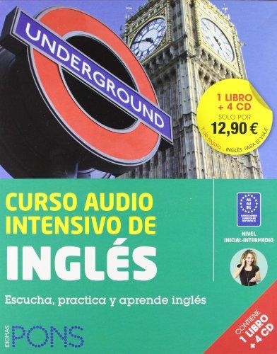 9788484439967: Curso audio intensivo de inglés