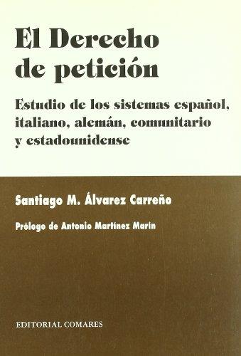 9788484440871: El derecho de petición