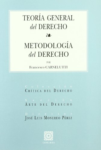 9788484446835: TEORIA GENERAL DEL DERECHO-METOD