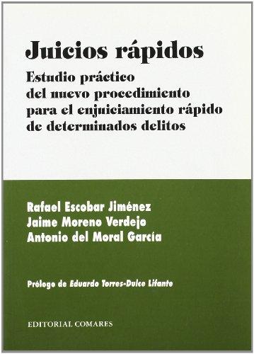9788484446873: JUICIOS RAPIDOS