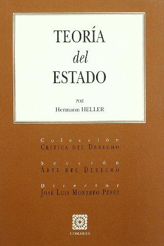 9788484448365: TEORIA DEL ESTADO POR HERMANN HELLER.