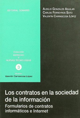 9788484448402: Contratos de la sociedad de la información