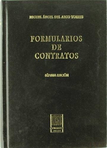 9788484449478: FORMULARIOS DE CONTRATOS 7ª EDICION INCLUYE CD