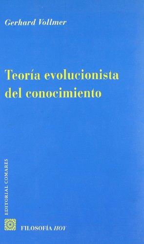 9788484449546: Teoría evolucionista del conocimiento