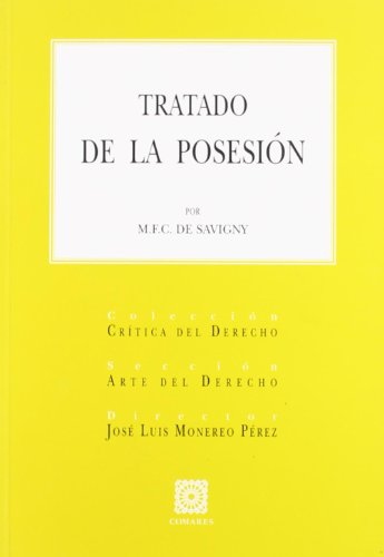 9788484449737: TRATADO DE LA POSESION