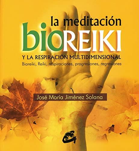 9788484450719: La meditación bioreiki y la respiración multidimensional: Bioreiki, reiki, respiraciones, progresiones regresiones (Cuerpo-Mente)
