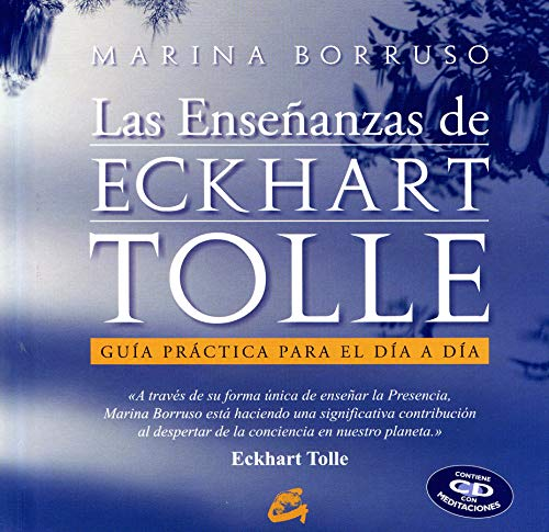 9788484452966: Las ensenanzas de Eckhart Tolle. Libro + CD Audio (Alfaomega) (Spanish Edition)