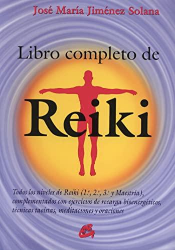 Libro completo de Reiki (Formato grande): Jiménez Solana, José