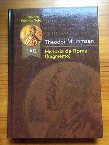 HISTORIA DE ROMA: THEODOR MOMMSEN